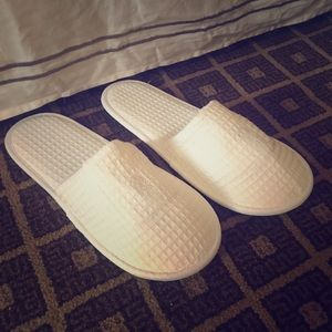 Other - Ritz Carlton guest slippers in waffle knit cotton